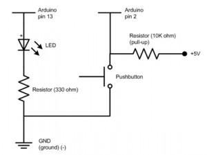 PushButton-ResistorPullUpSchematic300