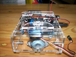 Tampak depan Famosa Studio Robotik Kit - Hasil Rakitan Part 2