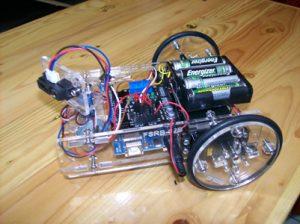 Tampilan Famosa Studio Robotik Kit